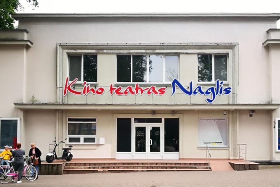 """Paskelbtas konkursas dėl """"Naglio"""" kino teatro"""