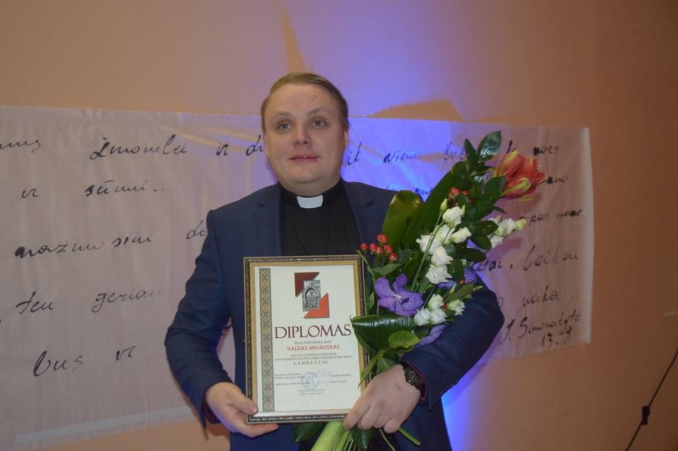 Ievos Simonaitytės premija įteikta ir rajone
