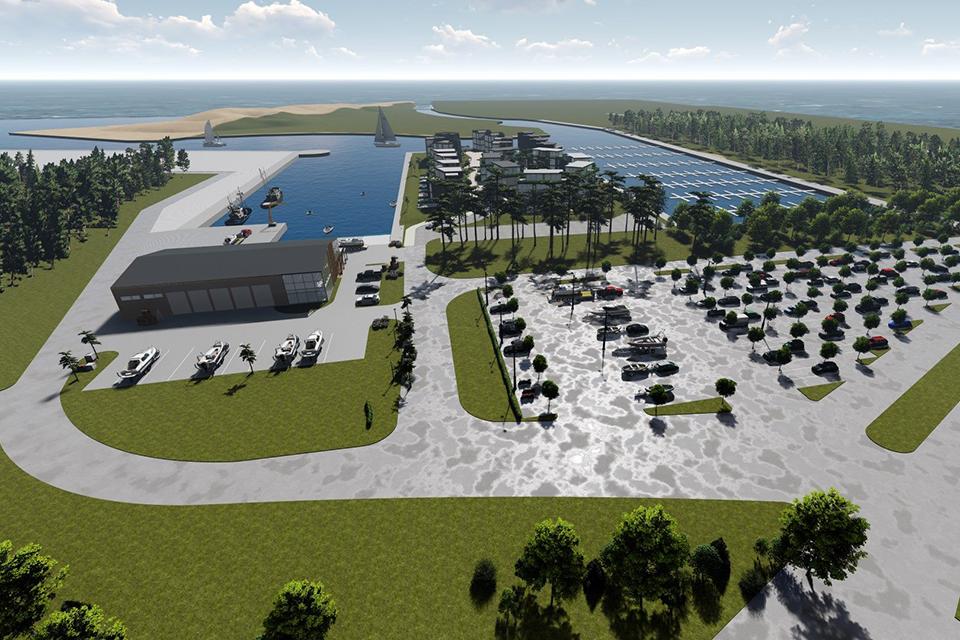 Šventosios jūrų uosto atstatymas – Vyriausybės programos įgyvendinimo plane