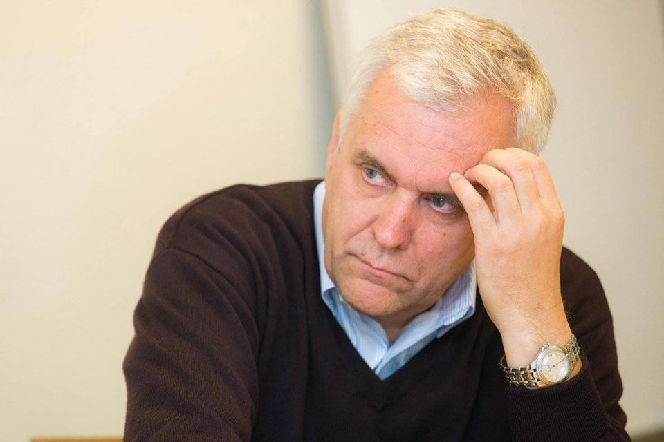 Alvydas Jokubaitis Klaipėdoje skaitys paskaitą
