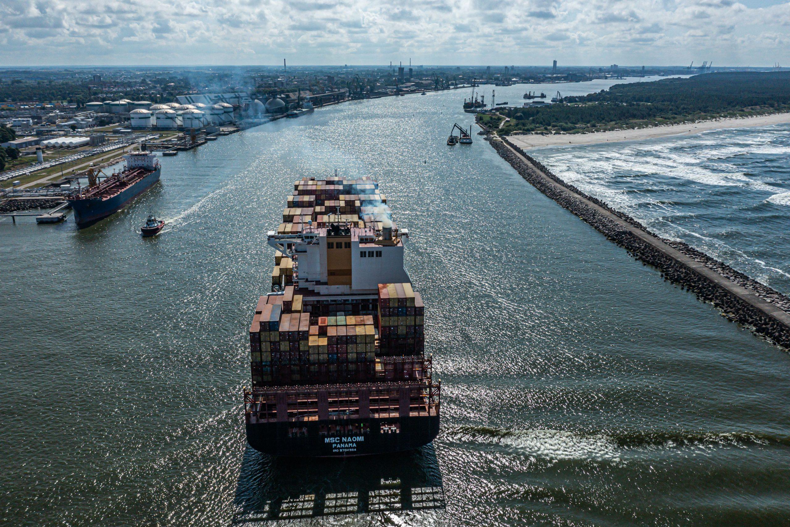 MSC vėl įtraukė Klaipėdos uostą į jūrinį maršrutą