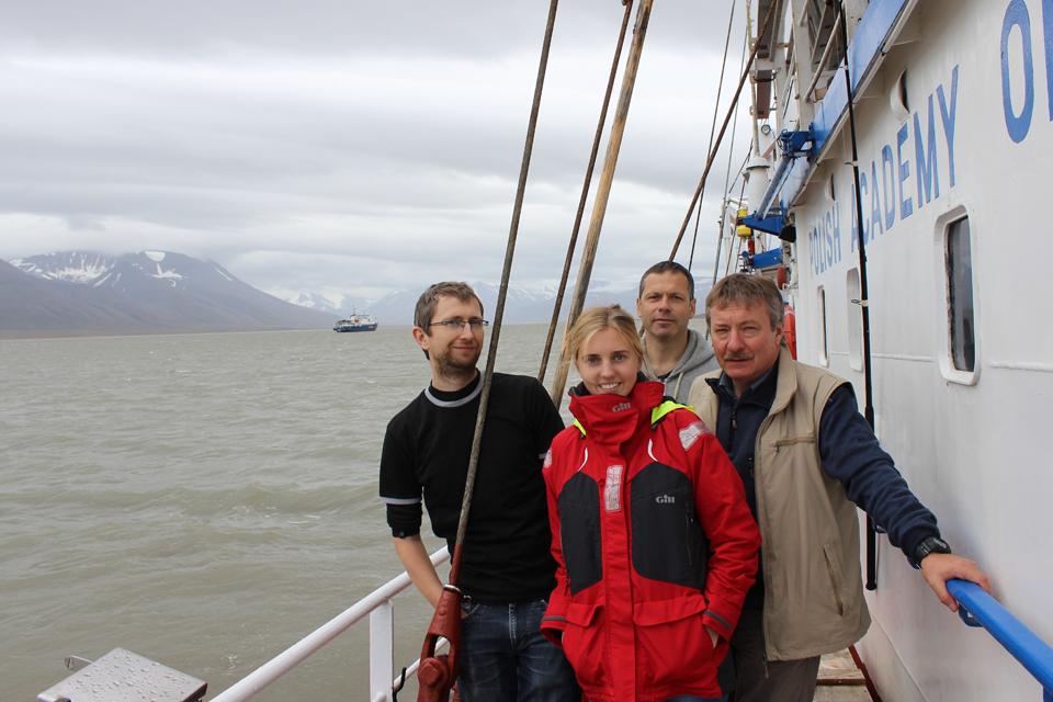 Klaipėdos universiteto mokslininkai darbavosi Arktyje