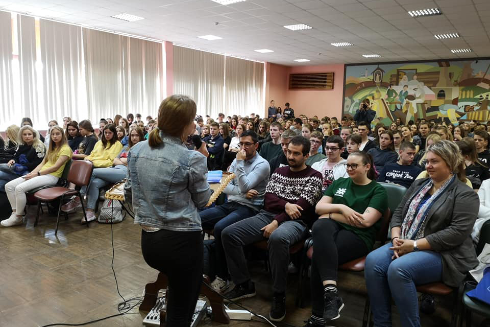 """Kolegija skleidžia žinias apie """"Erasmus+"""" programą"""