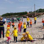 Melnragėje - ryškiaspalvė ikimokyklinukų sporto šventė
