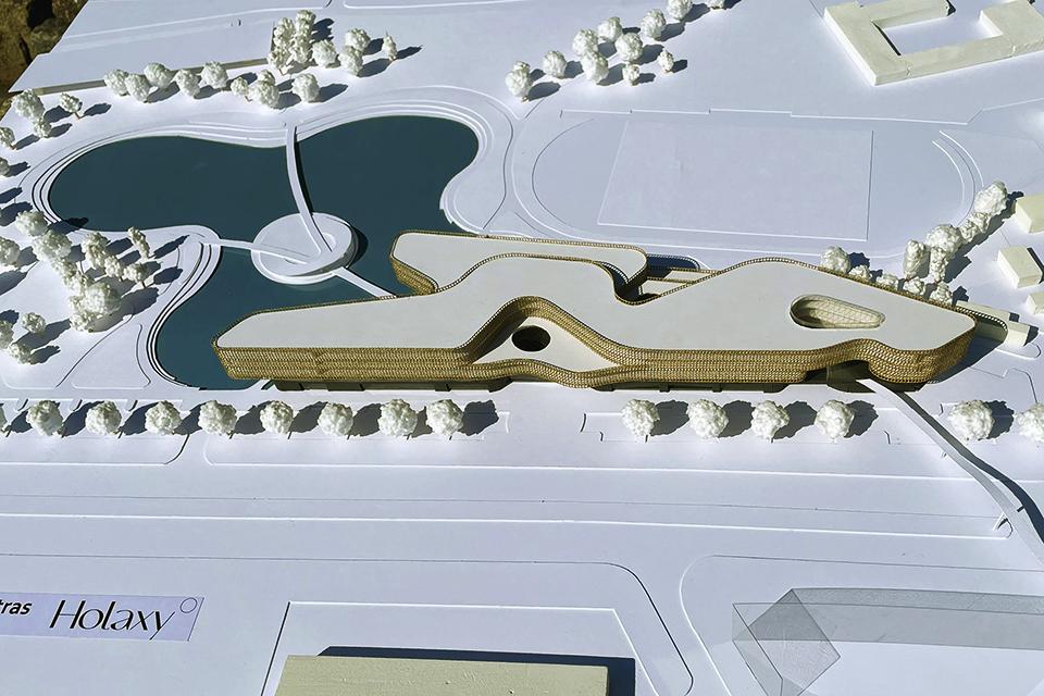 Holistinio žmogaus tobulėjimo centro architektūrinį konkursą laimėjo klaipėdiečiai
