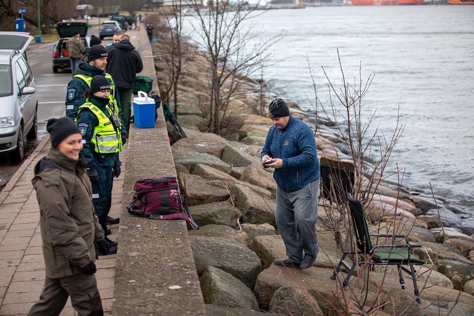 Policija prašo žvejų saugotis