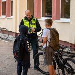 Po skaudaus įvykio - sustiprintas pareigūnų dėmesys moksleivių saugumui
