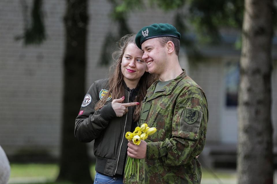 Į atsargą – per 600 Dragūnų bataliono šauktinių