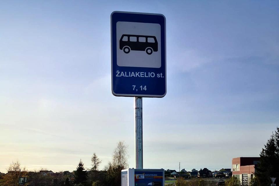 Nuo pirmadienio 7 ir 14 autobusai važiuos kitaip