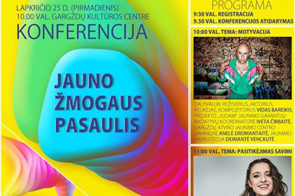 Gargžduose – konferencija apie jaunimą