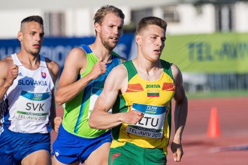 Klaipėdietis pagerino Lietuvos sezono rezultatą