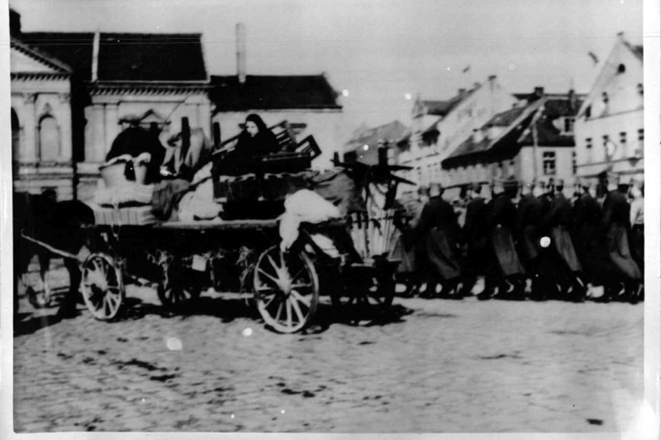 Žydai apleidžia Klaipėdą