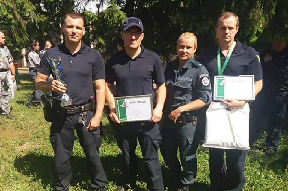 Klaipėdos policininkai – tarp taikliausiųjų
