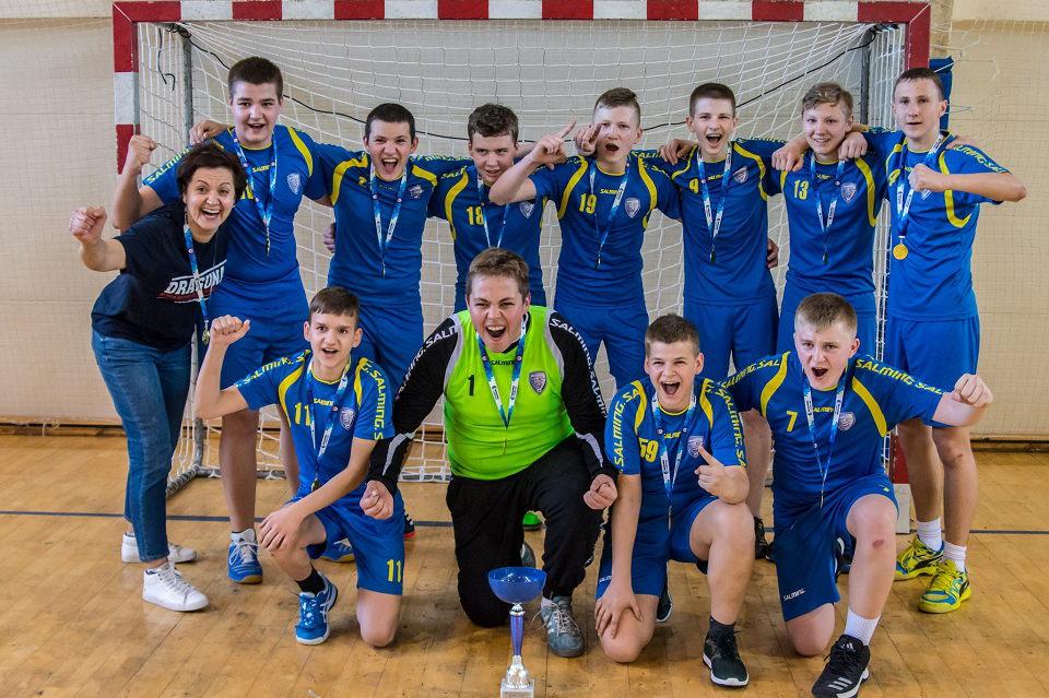 Jaunieji uostamiesčio rankininkai sužibėjo tarptautiniame turnyre