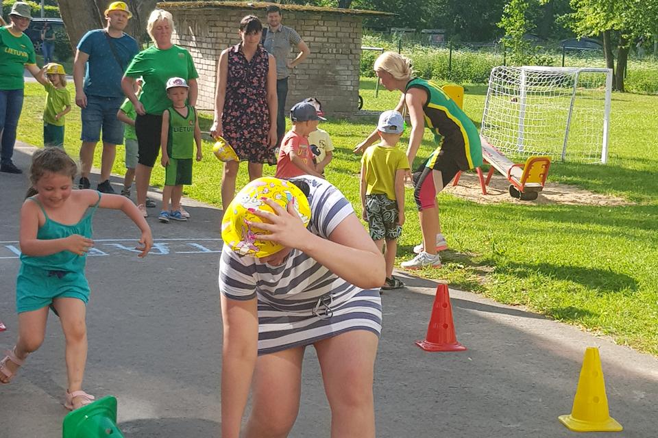 Sporto šventė lopšelyje-darželyje ,,Kregždutė''
