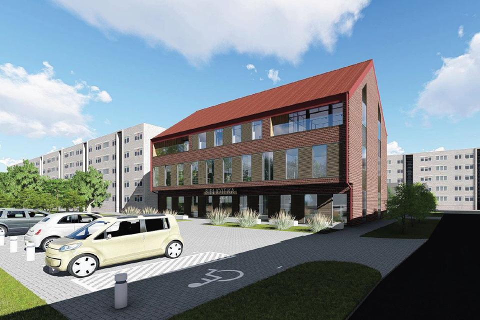 Startuos naujos bibliotekos statybos