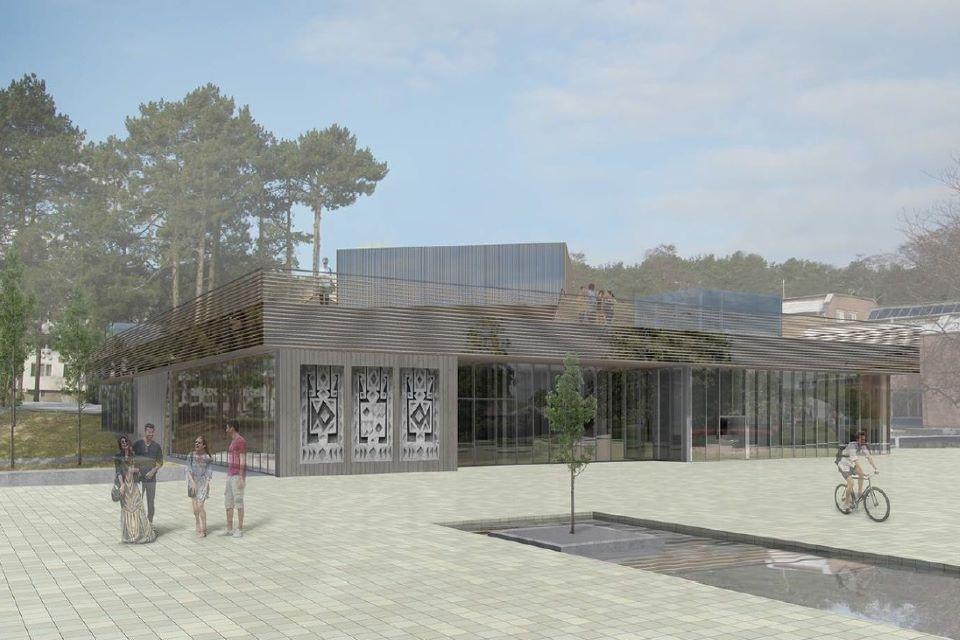 """Tęsiama Nidos kultūros ir turizmo informacijos centro """"Agila"""" rekonstrukcija"""