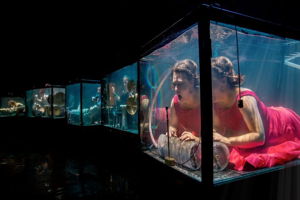 Jau šį šeštadieį Klaipėdoje – unikalus koncertas po vandeniu