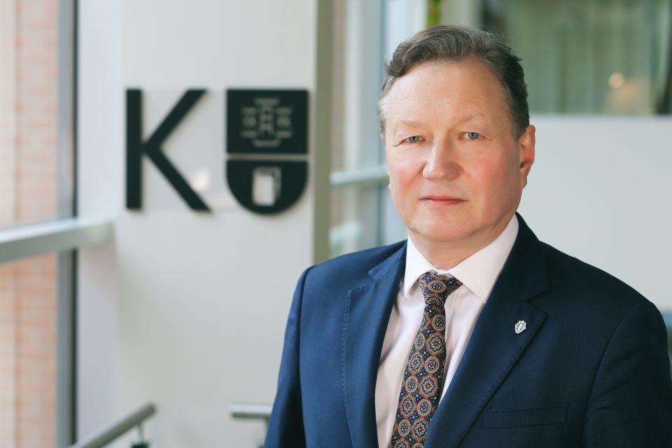 Garbingas Ukrainos apdovanojimas – Klaipėdos universiteto rektoriui