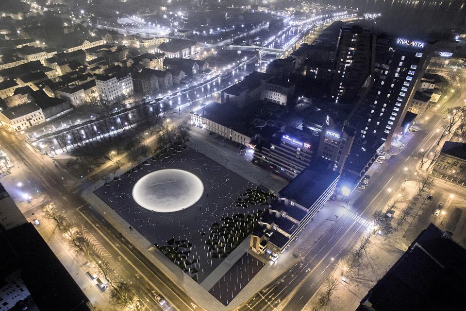 Auksinis Atgimimo aikštės parkingas: ieškoma būdų neišleisti 11 mln. eurų