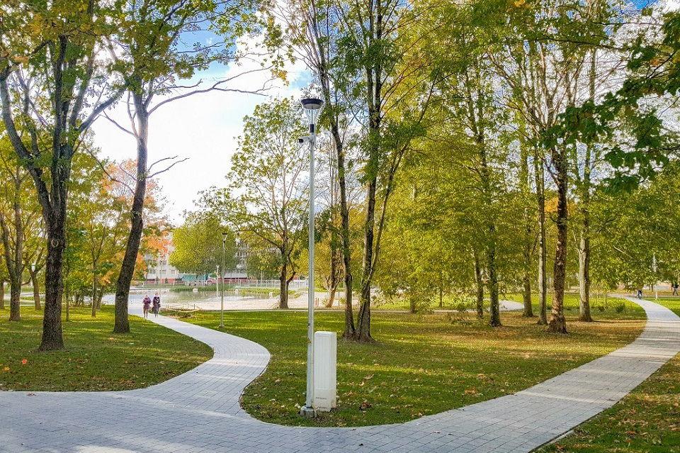 Изменения налицо: в Клайпеде завершилась реконструкция еще одного парка
