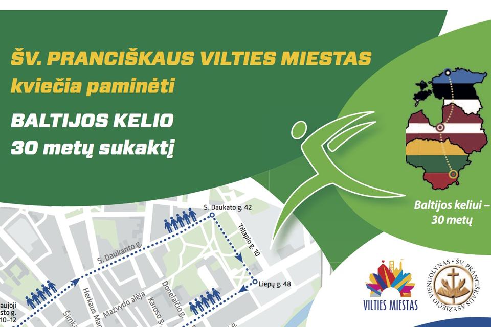 Baltijos kelias Klaipėdoje, 2019 m. gegužės 19 d.