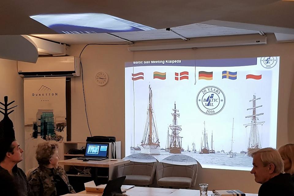"""""""Baltic Sail"""" komitetas susirinko Klaipėdoje"""