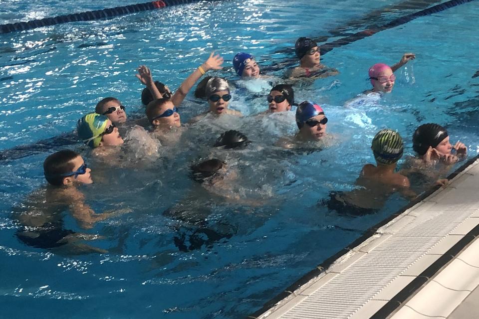 Klaipėdos baseine – tarptautinė mokymo plaukti programa