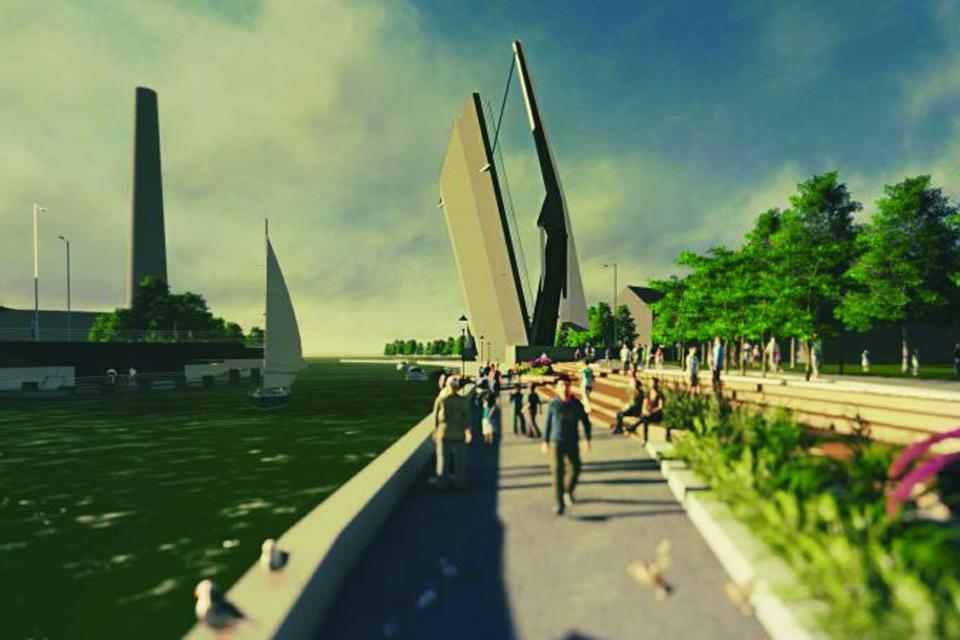 Miesto valdžios prioritetai: dingo Bastionų tiltas