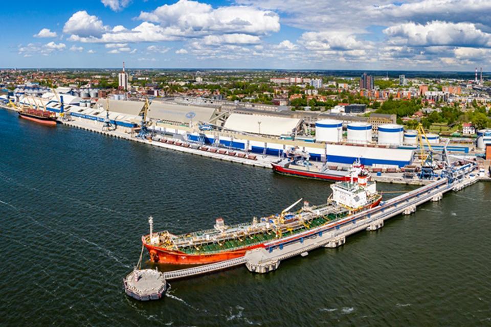 Klaipėdos uoste krantinės pritaikytos didesniems laivams