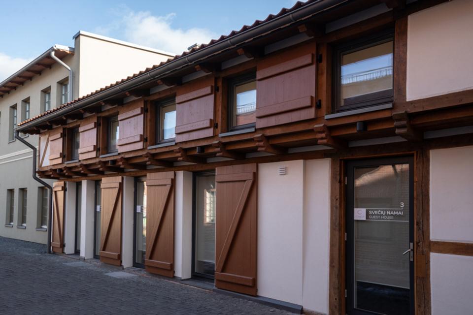 Buvusiame Bohemijos bravore – apartamentai