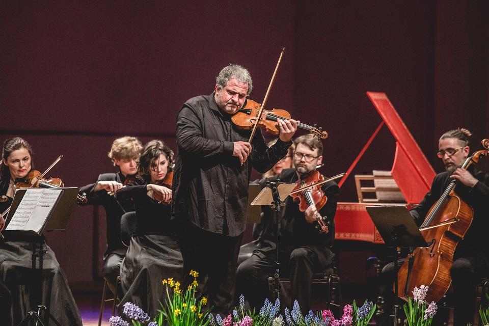 Smuiko virtuozas iš Italijos Domenico Nordio sugrįžta