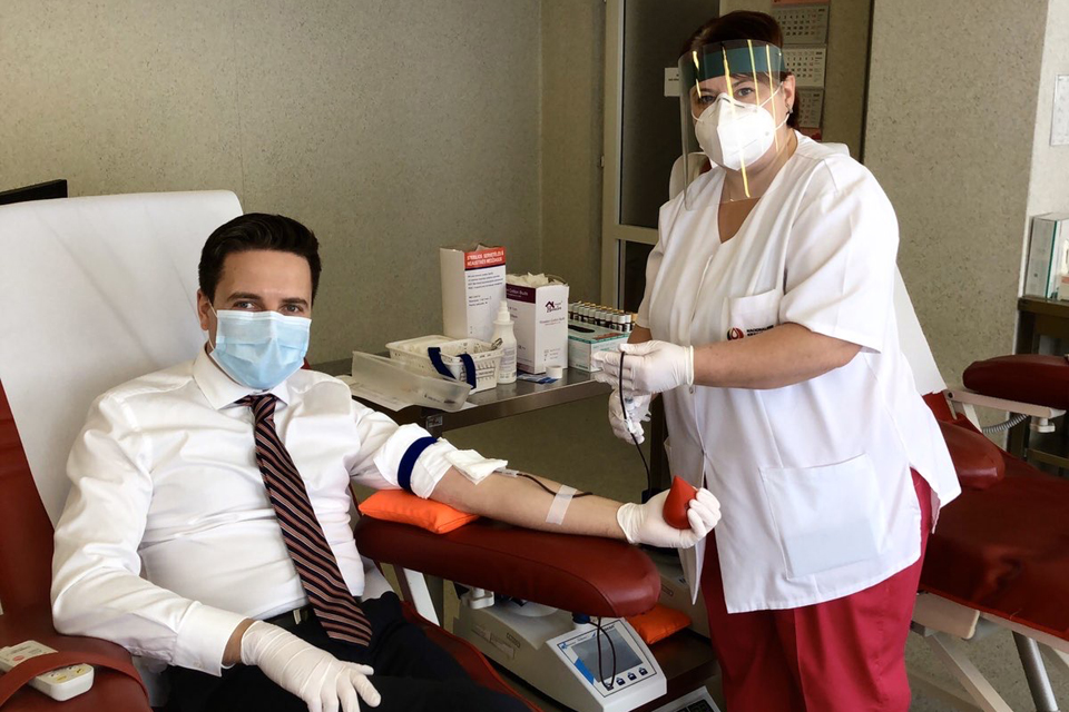 Nacionalinio kraujo centro Klaipėdos filialas vėl veikia