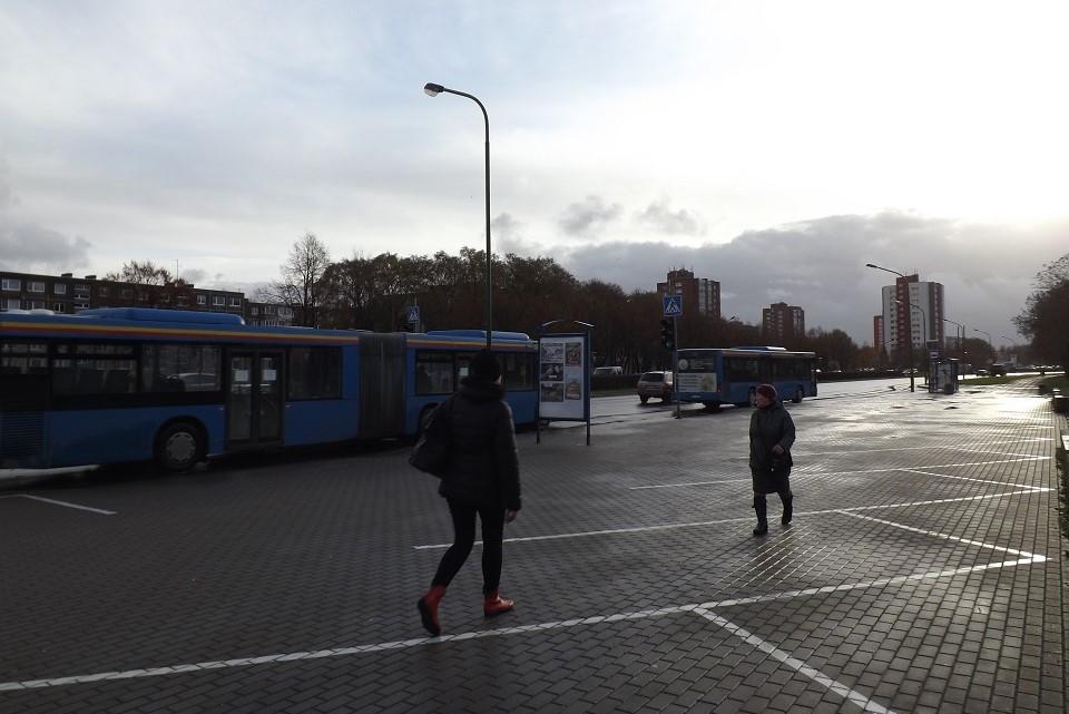 Mieste atsirado naujų autobusų stotelių