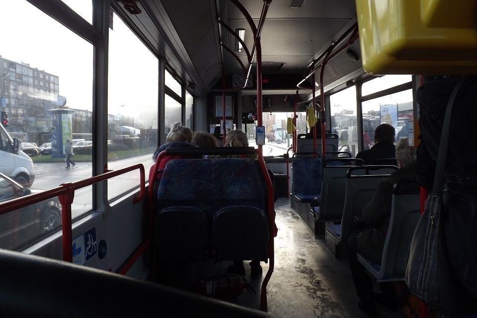Susimušė autobuse