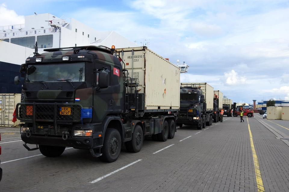 Uoste – Belgijos ir Liuksemburgo karinė technika