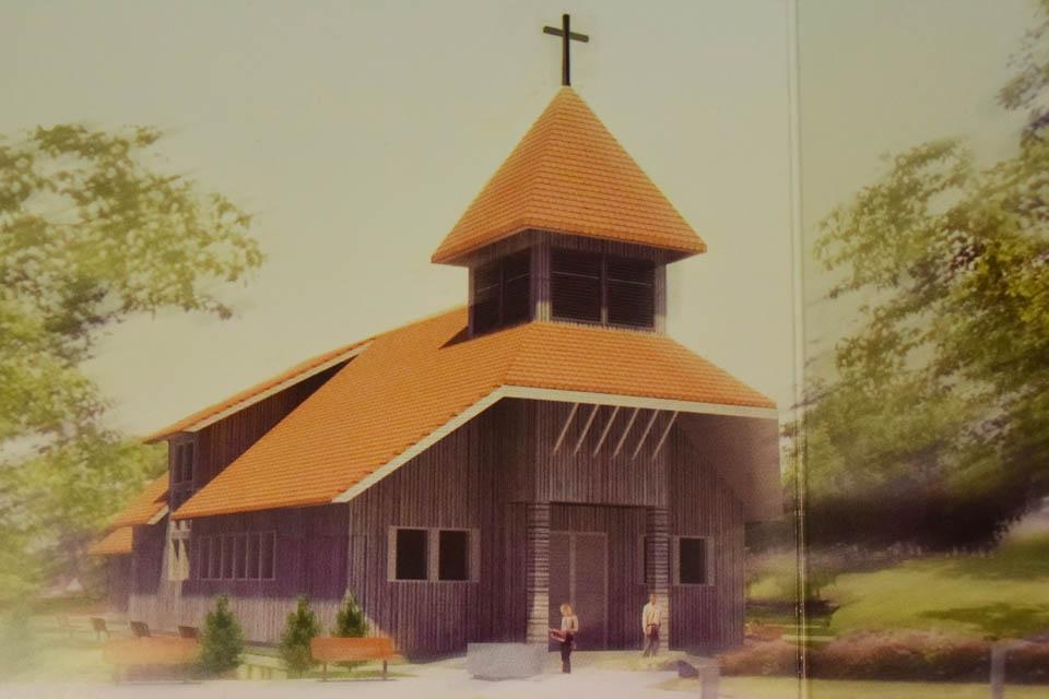 Rajonas žada remti Slengių bažnyčios statybą