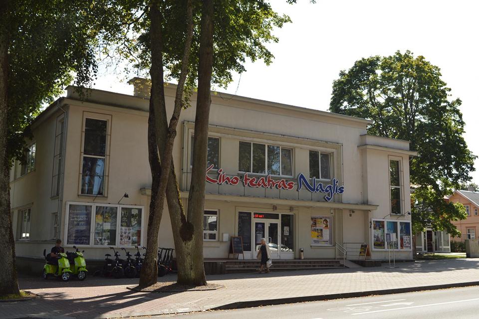 "Palangos kino teatras ""Naglis"" taps regionine filmoteka"