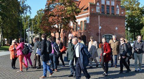 Žurnalistai iš Suomijos domėjosi Klaipėdos universitetu