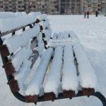 Į pajūrį atkeliauja žiema