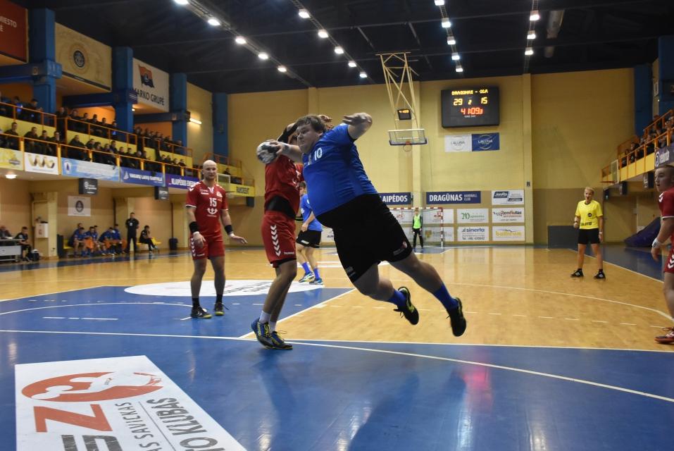 Baltijos rankinio lygos kovos sugrįžta į Klaipėdą