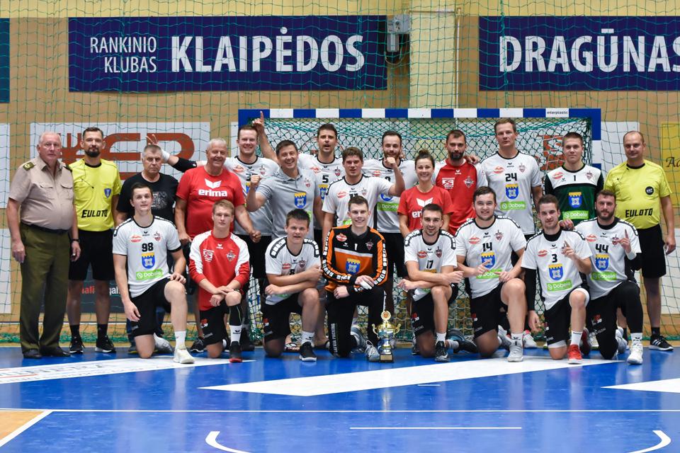 Rankinio turnyrą Klaipėdoje laimėjo Latvijos komanda