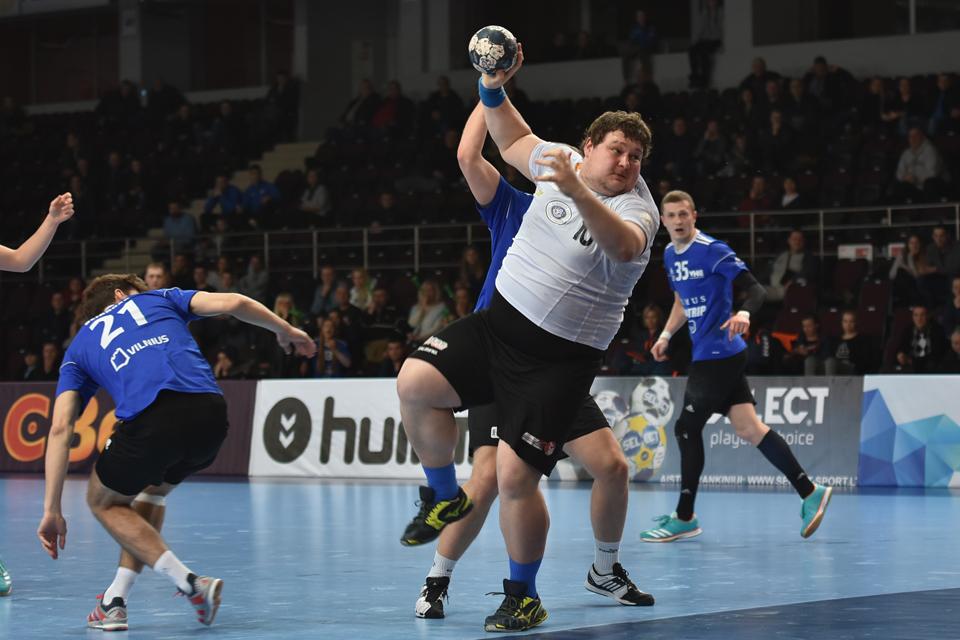"""""""Dragūnas"""" – rankinio federacijos taurės finale"""