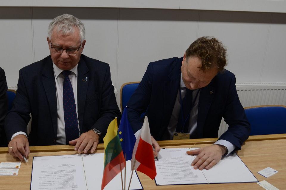 Pasirašė bendradarbiavimo sutartį su Gdansko universitetu
