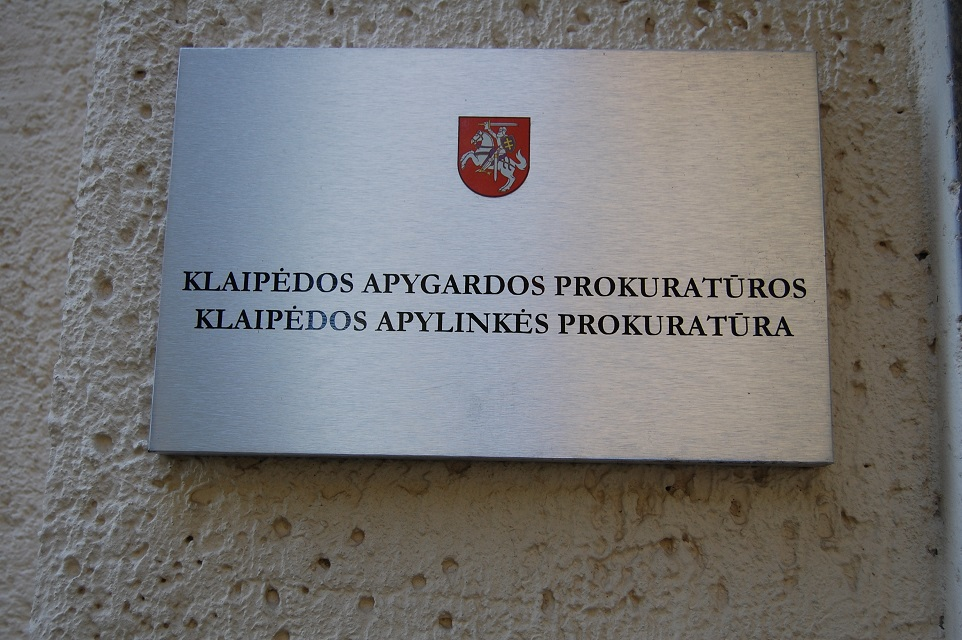 Klaipėdos prokuratūrai vadovaus Vilius Paulauskas?