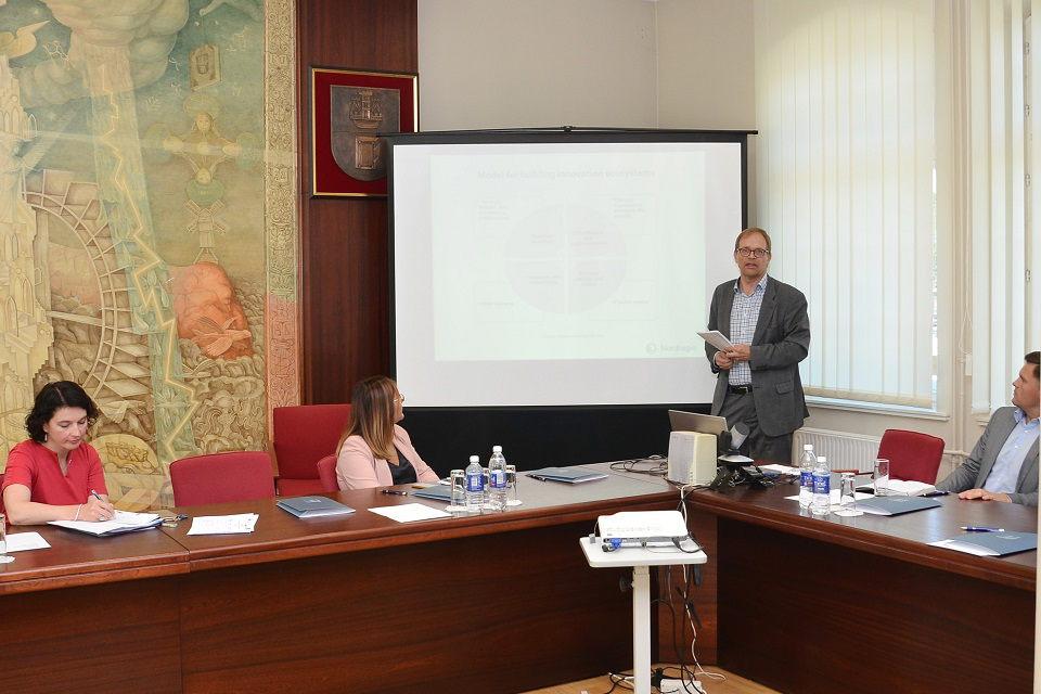 Diskutuota apie inovacijų ekosistemos plėtrą