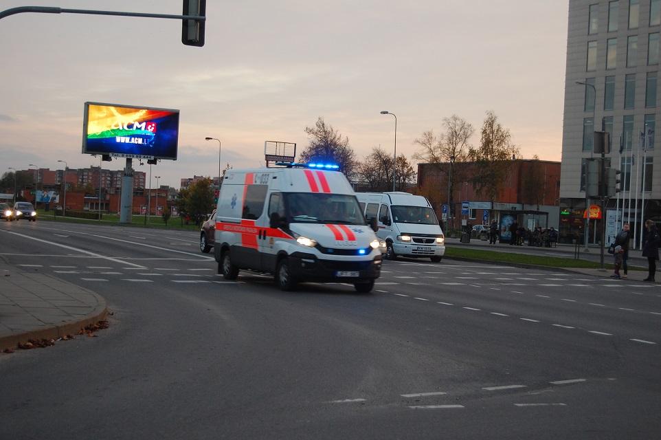 Mirė avarijoje sužalota moteris