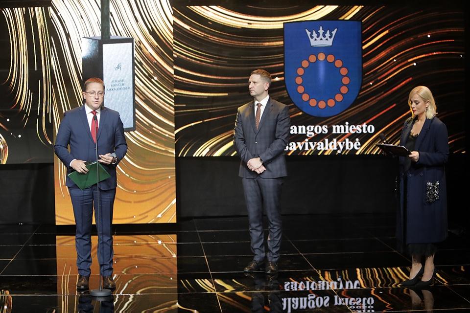 """Palangai – """"Auksinė krivūlė"""" už kultūros puoselėjimą, Klaipėdai – už diplomatiją"""