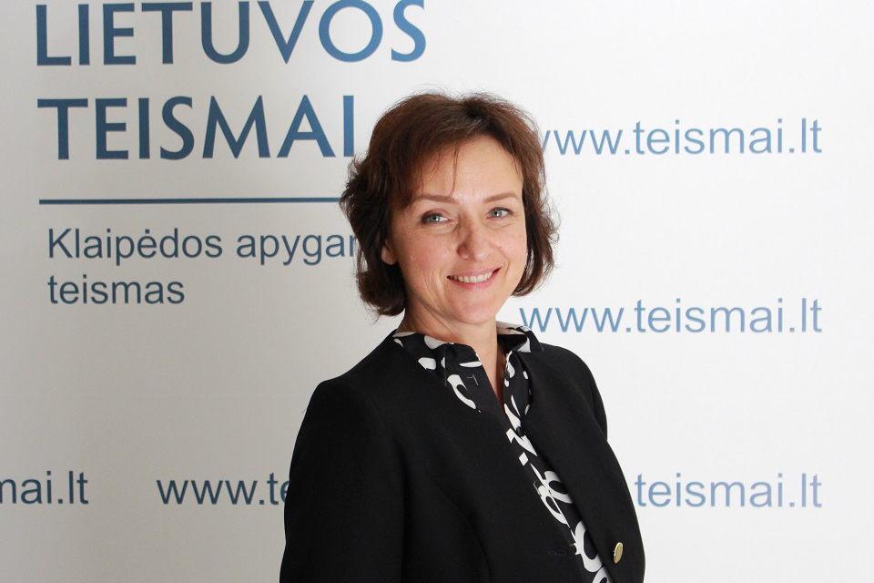 Baudžiamųjų bylų skyriaus pirmininke tapo Daiva Jazbutienė