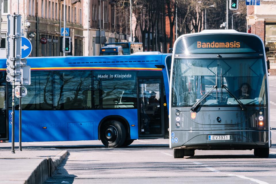 """Klaipėdos autobusų parkas vežios """"Aurum 1006 km lenktynių"""" žiūrovus"""